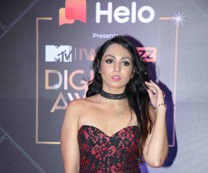 Actress Avnie Joshi at MTV - IWMBuzz Digital Awards 2019