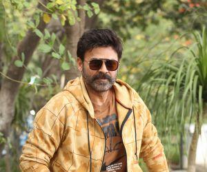 Actor Daggubati Venkatesh During an  Interview