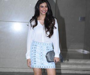 Actress daisy Shah at Salman Khan birthday party.