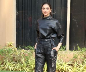 Actress Deepika Padukone at promotin of film Chhapaak.
