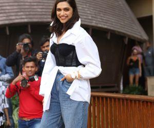 Actress Deepika Padukone During the promotion of her film Chhapaak