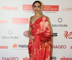 Actress Deepika Padukone During the Star Studded 4th Edition Of Lokmat Most Stylish Awards