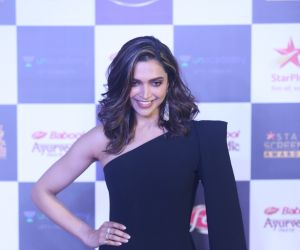 Actress Deepika Padukone in Star Screen Awards at BKC.