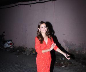 Actress Dia Mirza seen at bandra