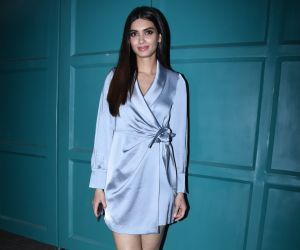 Actress Diana penty at Maddock films New office party