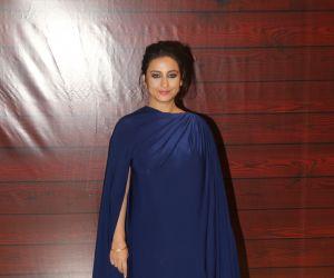 Actress Divya Dutta attend  Javed Akhtar's Birthday.