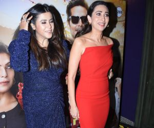 Actress Ekta Kapoor and Karishma Kapoor at Launch of Zee5 & Alt Balaji's MentalHood at bandra