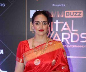 Actress Esha Deol at MTV - IWMBuzz Digital Awards 2019