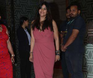Actress  Ekta Kapoor during Society Awards at Taj Santacruz.