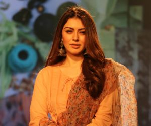Actress Hansika Motwani at Lakme 2020