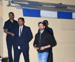 Actor Hrithik Roshan attend the annual day function of Dhirubhai Ambani International School.