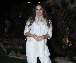 Actress Huma Qureshi elebrate Isha Ambani's Holi Party at her residence in worli