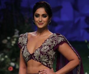 Actress Ileana D Cruz On The Ramp at LFWSR 2020
