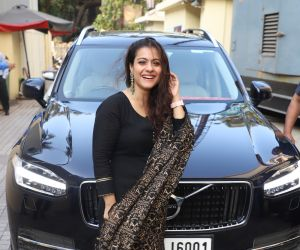 Actress Kajol Devgan At Special screening of Tanahji.