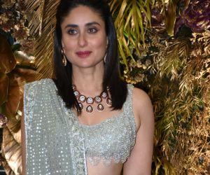 Actress Kareena Kapoor at  Armaan Jain wedding party
