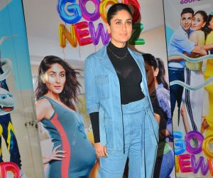 Actress Kareena Kapoor at the media interactions for film Good Newwz.