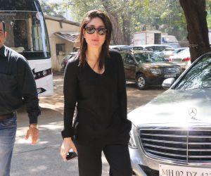 Actress Kareena Kapoor seen at Mehboob Studio