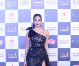 Actress Kiara Advani in Star Screen Awards at BKC.