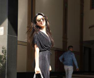 Actress Kiara Advani seen at juhu