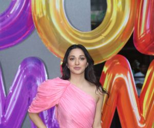 Actress Kiara Advani Trailer launch of New Film Good Newwz at Cinepolis