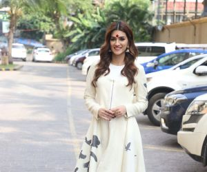 Actress Kriti Sanon During the Promotion of her film Panipat.