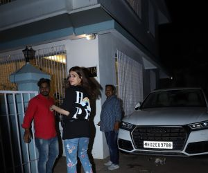 Actress Kriti Sanon seen at juhu.