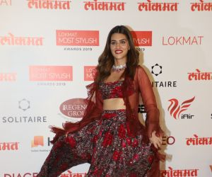 Actress Kriti Sanon  During the Star Studded 4th Edition Of Lokmat Most Stylish Awards