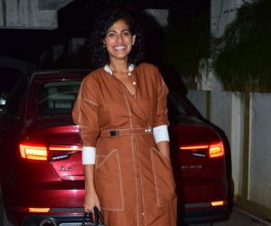 Actress kubbra Sait at Goldie Behl birthday party