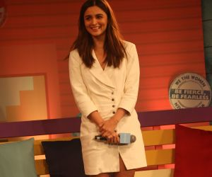 Alia Bhatt addresses at 'We The Women' programme