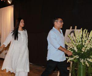 Actress Neha Dhupai Attend Prayers Meet of Shabana Azmi Mom.