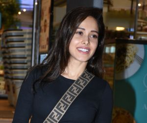 Actress Nushrat Bharucha spotted at foodhall in khar