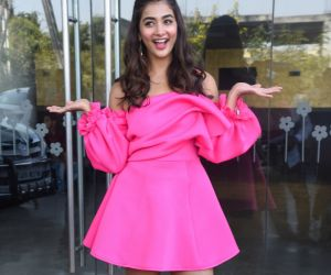 Actress Pooja Hegde During the Photo Section.