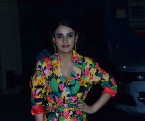 Actress Radhika Madan at Screening of Angrezi Medium in pvr juhu