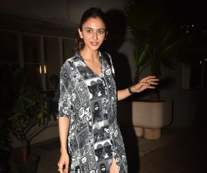 Actress Rakul Preet Singh Seen at sequel.