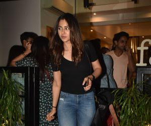 Actress Rakul Preet Singh Seeen at bandra.