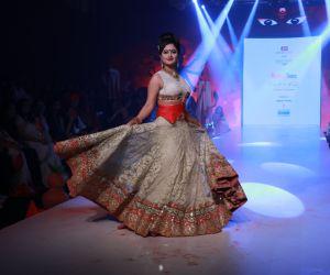 Actress Rashami Desai at Bombay Times Fashion Week 2020