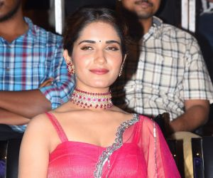 Actress Ruhani Sharma at Hit movie pre release event in Vizag