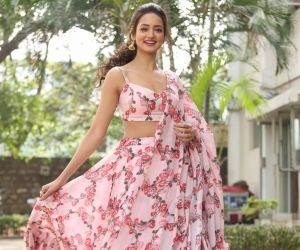 Actress Shanvi Srivastava During the Photo shoot.