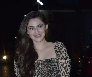 Actress Shivaleeka Oberoi Screening of film Yeh Saali Ashiqui at pvr juhu.