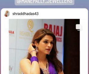 Actress Shraddha Das During the Photo Section