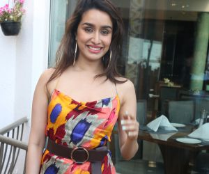 Actress Shraddha Kapoor at the promotions of film Baaghi 3