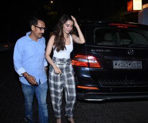 Actress Shraddha Kapoor seen at bandra