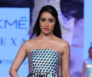 Actress Shraddha Kapoor  Walk in Lakme Fashion Week 2020