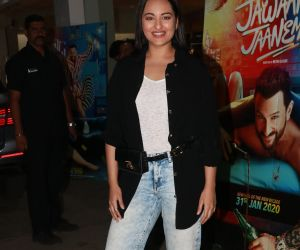Actress Sonakshi Sinha at the screening of film Jawani Jaaneman