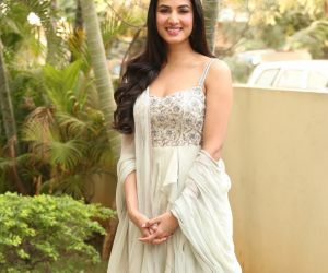 Actress Sonal Chauhan During an Interview.