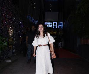 Actress Taapsee Pannu spotted at bandra