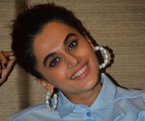 Actress Taapsee Pannu spotted at JW Marriott Juhu