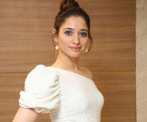 Actress Tamanna Bhatia Posses for a Photo