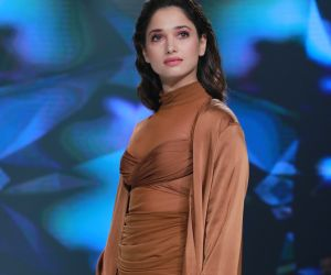 Actress Tamannaah Bhatia's stunning ramp walk at Bombay Times Fashion Week 2020
