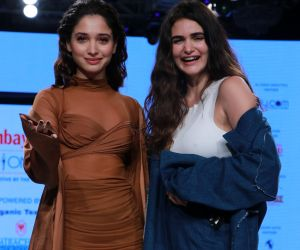 Actress Tamannaah Bhatia turns showstopper for Gabriella Demetriades at Bombay Times Fashion Week 2020